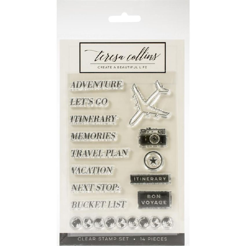 Tampon clear JETSETTER ADVENTURE