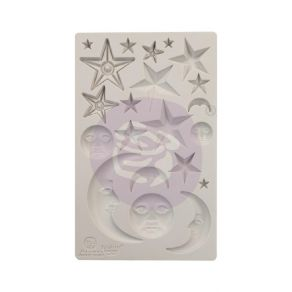 Moule silicone Finnabair STARS AND MOONS