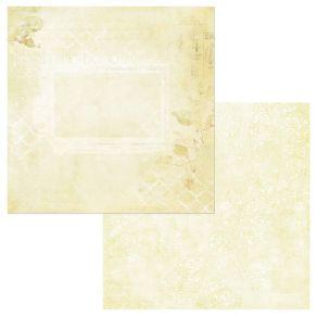 Papier imprimé Vintage Artistry Butter GARDEN NOTES
