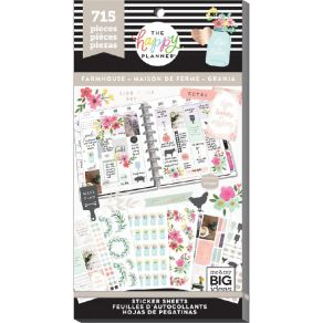 Carnet de stickers MAMBI Happy Planner FARMHOUSE