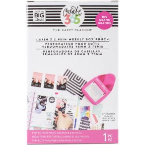 Perforatrice Happy Planner BIG WEEKLY BOX PUNCH