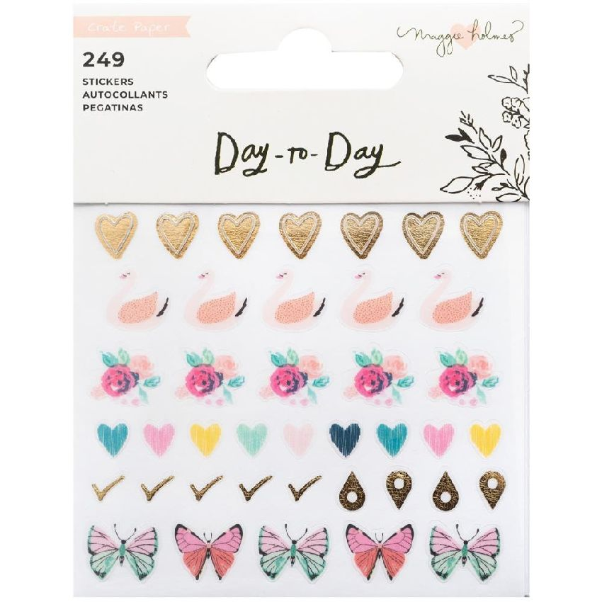 Carnet de stickers Maggie Holmes Day To Day BOOK 3