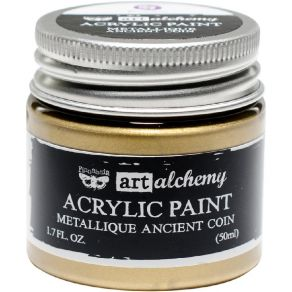 Peinture acrylique Finnabair métallique ANCIENT COIN par Prima Marketing. Scrapbooking et loisirs créatifs. Livraison rapide ...