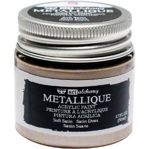 Peinture acrylique Finnabair métallique SOFT SATIN par Prima Marketing. Scrapbooking et loisirs créatifs. Livraison rapide et...
