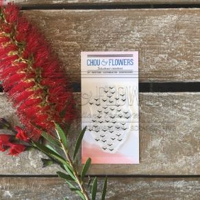 Tampons clear ENVOL D'OISEAUX par Chou and Flowers. Scrapbooking et loisirs créatifs. Livraison rapide et cadeau dans chaque ...