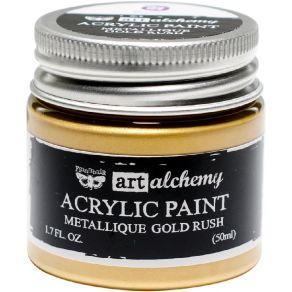 Peinture acrylique Finnabair métallique GOLD RUSH par Prima Marketing. Scrapbooking et loisirs créatifs. Livraison rapide et ...