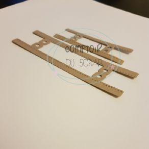 Outil de découpe GRAND ONGLET CLASSEUR par Comptoir du Scrap. Scrapbooking et loisirs créatifs. Livraison rapide et cadeau da...