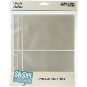 Pochettes 15 x 20 pour album Snap Flipbook POCKET 10 X 15 CM