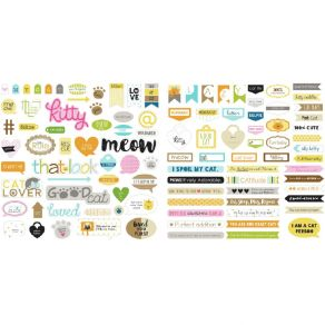 Die cuts Bella Besties CHLOE WORDS