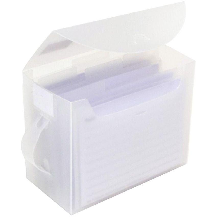 Boite de rangement à onglets FAB FILE SMALL 10 X 15 CM par Totally Tiffany. Scrapbooking et loisirs créatifs. Livraison rapid...
