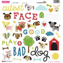 Stickers Bella Besties COOPER ICONS