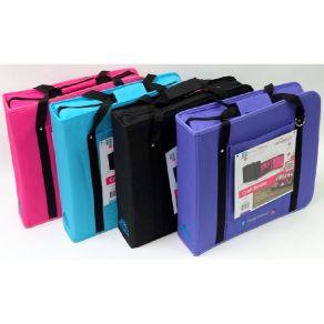 Valisette de rangement Create and Carry Craft Binder PINK