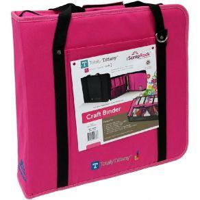 Sac de transport SCRAP RACK PINK par Totally Tiffany. Scrapbooking et loisirs créatifs. Livraison rapide et cadeau dans chaqu...
