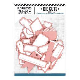 Etiquettes N°16 ROSE CORAIL
