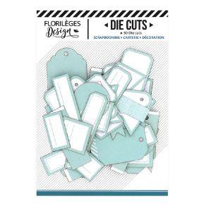 Etiquettes VERT MINT par Florilèges Design. Scrapbooking et loisirs créatifs. Livraison rapide et cadeau dans chaque commande.