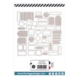 Etiquettes N°18 BEIGE ANGORA