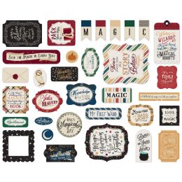 Die cuts Witches and Wizards ICONS
