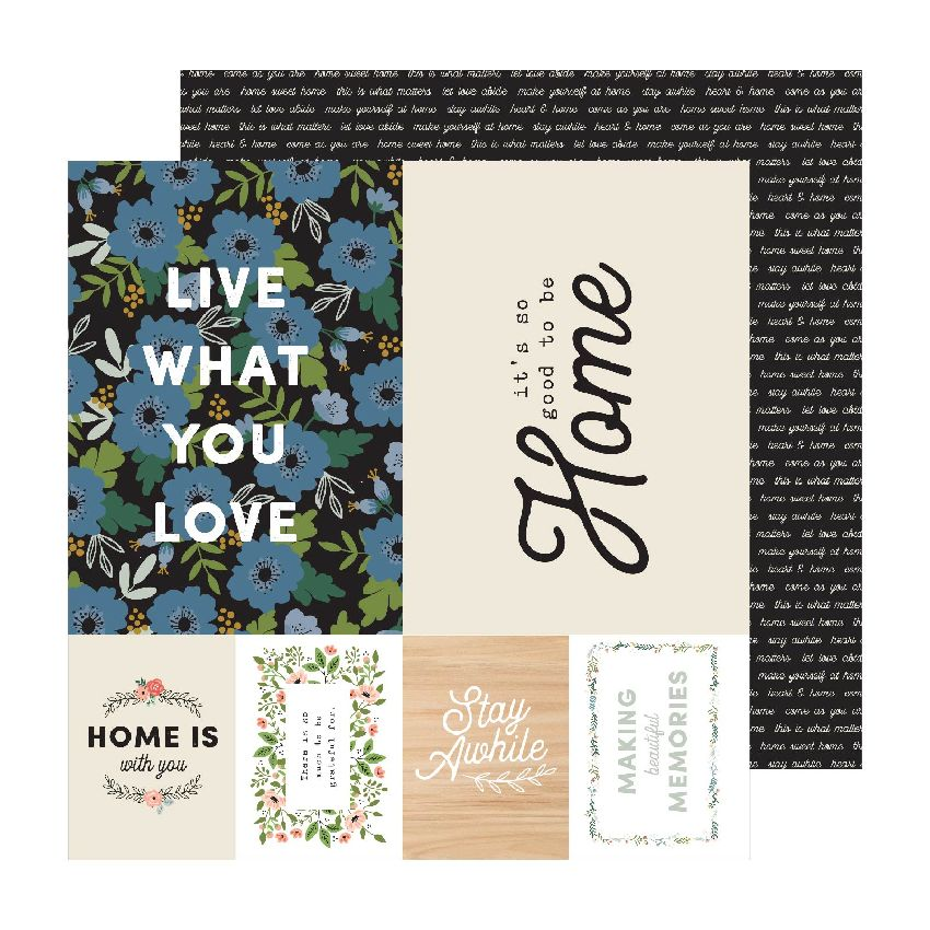 Papier imprimé The Avenue SIXTH AVE. par American Crafts. Scrapbooking et loisirs créatifs. Livraison rapide et cadeau dans c...