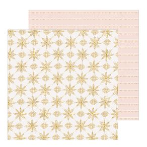 Papier imprimé Snowflake SNOWCAPPED