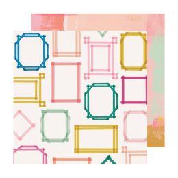 Papier imprimé Sweet Story HIGHLIGHT par Crate Paper. Scrapbooking et loisirs créatifs. Livraison rapide et cadeau dans chaqu...
