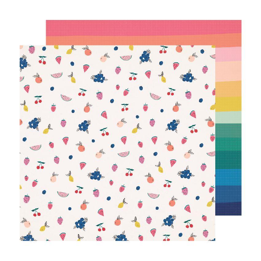 Papier imprimé Sweet Story JUBILEE par Crate Paper. Scrapbooking et loisirs créatifs. Livraison rapide et cadeau dans chaque ...