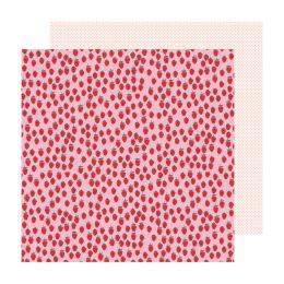 Papier imprimé Sweet Story SHORTCAKE par Crate Paper. Scrapbooking et loisirs créatifs. Livraison rapide et cadeau dans chaqu...