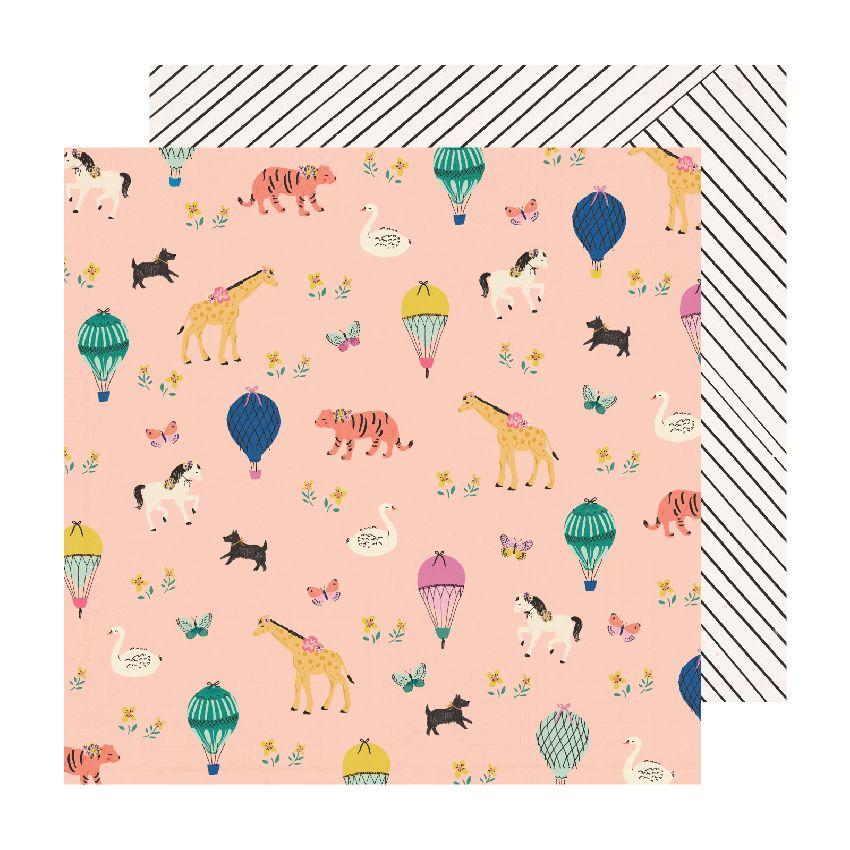 Papier imprimé Sweet Story STORYTIME par Crate Paper. Scrapbooking et loisirs créatifs. Livraison rapide et cadeau dans chaqu...