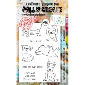 Tampons clear AALL and Create RESCUE PUPPIES 373 par AALL & Create. Scrapbooking et loisirs créatifs. Livraison rapide et cad...
