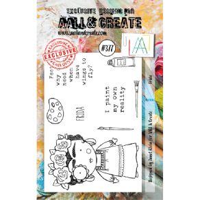 Tampons clear AALL and Create FRIDA 377 par AALL & Create. Scrapbooking et loisirs créatifs. Livraison rapide et cadeau dans ...