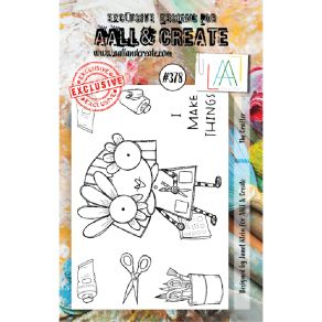Tampons clear AALL and Create THE CRAFTER 378 par AALL & Create. Scrapbooking et loisirs créatifs. Livraison rapide et cadeau...