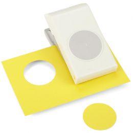 Perforatrice Large CERCLE 4,5 CM par Ek success. Scrapbooking et loisirs créatifs. Livraison rapide et cadeau dans chaque com...