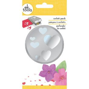 Perforatrice Large CONFETTI HEARTS