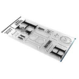 Tampon clear LETTRE H par Florilèges Design. Scrapbooking et loisirs créatifs. Livraison rapide et cadeau dans chaque commande.