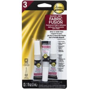 Colle transparente permanente QUICK DRY FABRIC FUSION