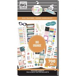 Carnet De Stickers MAMBI Happy Planner RAD TEACHER