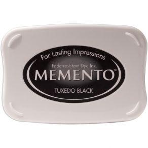 Encre Memento Dye Ink TUXEDO BLACK par Imagine Crafts. Scrapbooking et loisirs créatifs. Livraison rapide et cadeau dans chaq...