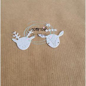 Outil de découpe PETITS FAONS par Comptoir du Scrap. Scrapbooking et loisirs créatifs. Livraison rapide et cadeau dans chaque...