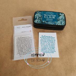 Tampon clear L'AUTOMNE EST LA par Comptoir du Scrap. Scrapbooking et loisirs créatifs. Livraison rapide et cadeau dans chaque...