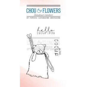 Tampon clear Couleur Bohème CHOUPINOU par Chou and Flowers. Scrapbooking et loisirs créatifs. Livraison rapide et cadeau dans...
