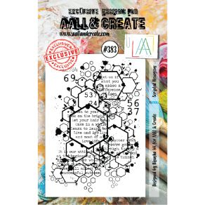 Tampon clear AALL and Create SCRIPTED HEXAGONS 383