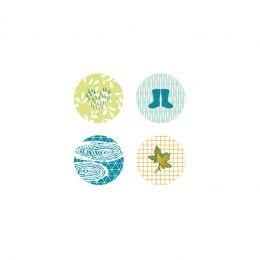 4 badges OCTOBRE