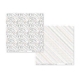Papier imprimé COZY TIME 02 par Studio Forty. Scrapbooking et loisirs créatifs. Livraison rapide et cadeau dans chaque commande.