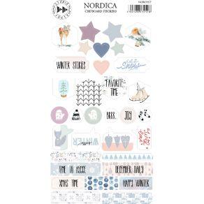 Stickers cartonnés NORDICA