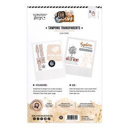 Tampon clear UN COIN DE NATURE par Florilèges Design. Scrapbooking et loisirs créatifs. Livraison rapide et cadeau dans chaqu...