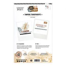 Tampon clear UN TEMPS POUR SOI par Florilèges Design. Scrapbooking et loisirs créatifs. Livraison rapide et cadeau dans chaqu...