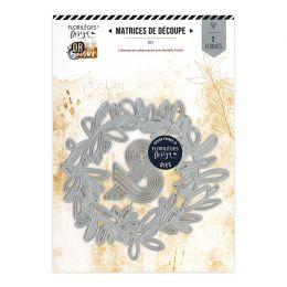 Outil de découpe COURONNE DES 4 SAISONS par Florilèges Design. Scrapbooking et loisirs créatifs. Livraison rapide et cadeau d...