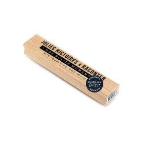 Tampon bois NOS PETITS MOMENTS par Florilèges Design. Scrapbooking et loisirs créatifs. Livraison rapide et cadeau dans chaqu...