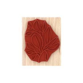 Tampon bois FEUILLAGE FOISONNANT par Florilèges Design. Scrapbooking et loisirs créatifs. Livraison rapide et cadeau dans cha...