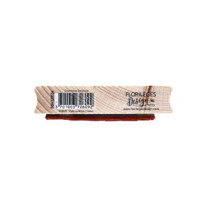Tampon bois COURONNE FANTAISIE par Florilèges Design. Scrapbooking et loisirs créatifs. Livraison rapide et cadeau dans chaqu...