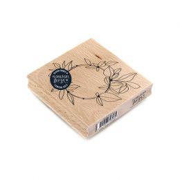 Tampon bois ANNEAU D'AUTOMNE par Florilèges Design. Scrapbooking et loisirs créatifs. Livraison rapide et cadeau dans chaque ...